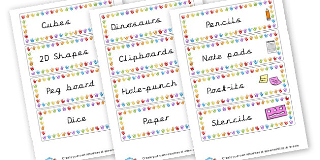 Classroom Labels with Magazine - Classroom Labels Primary Resources, book label, resource label