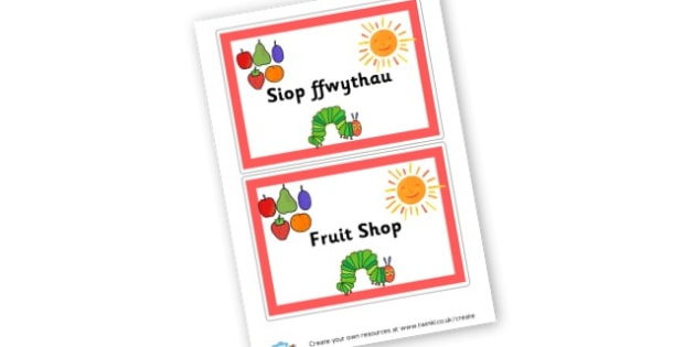 Fruit Shop to Support Teaching on The Very Hungry Caterpillar - The Very Hungry Caterpillar Primary Resources, Story Sack, Carle