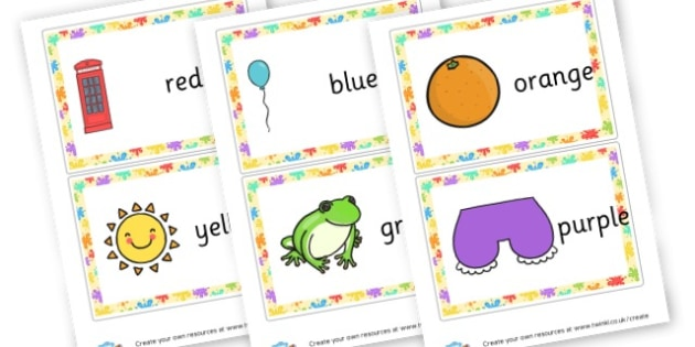 Colour Posters - Themed Signs and Labels, Colour, Art, Paint, Primary Resources