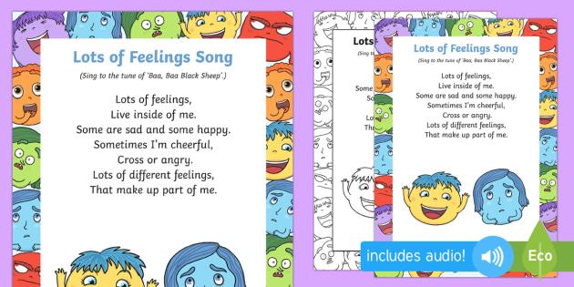 Lots of Feelings Song