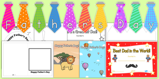 Fathers Day Resource Pack for Childminders - child minder, dad