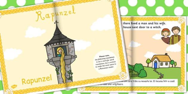 Rapunzel eBook EAL Romanian Translation - Romanian, ebook, story