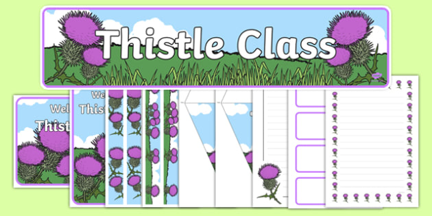 Thistle Class Resource Pack - thistle class, resource pack, thistle, class