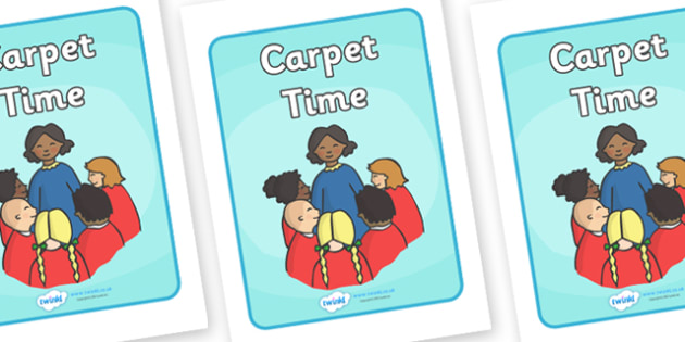 Carpet Time Display Poster - Carpet time, SEN, behaviour management, PSHE, SEAL, carpet time, circle, display banner, display, good sitting