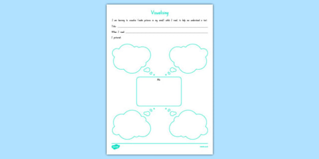 Visualising   Thought bubbles Activity Sheet, worksheet