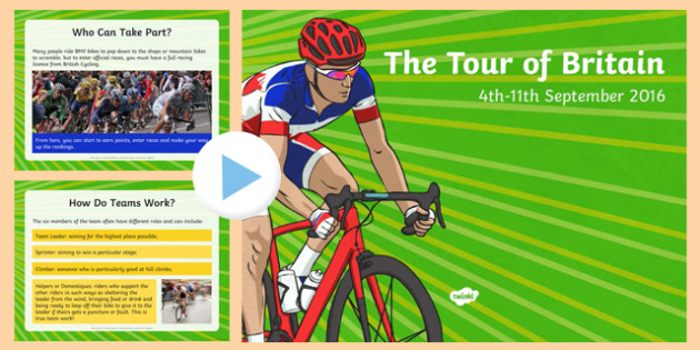 The Tour of Britain PowerPoint
