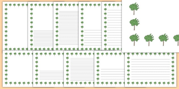 Mulberry Tree Themed Page Borders - mulberry tree, themed, page borders, page, borders