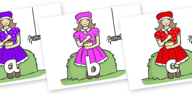 Phase 2 Phonemes on Little Miss Muffet - Phonemes, phoneme, Phase 2, Phase two, Foundation, Literacy, Letters and Sounds, DfES, display