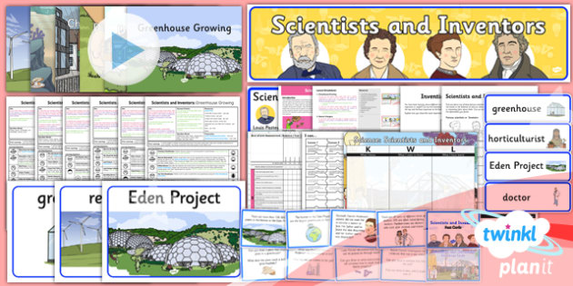 Science: Scientists and Inventors Year 2 Unit Pack