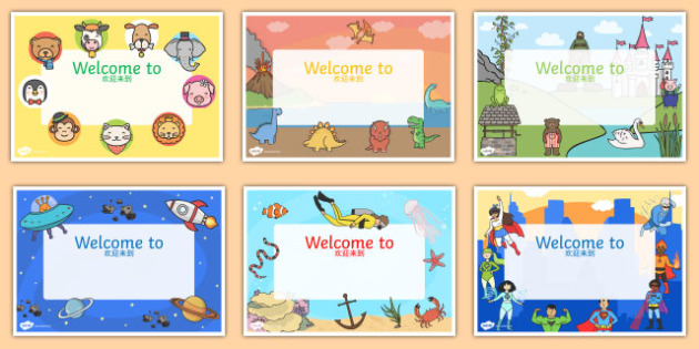 Editable Welcome Signs Mandarin Chinese Translation - mandarin chinese, editable signs, welcome signs, signs and labels, welcome to our classroom, welcome to our school, make your own welcome signs