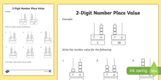 Deeper Learning Task Place Value 2 Digit Numbers Activity Sheet - deeper learning task, place value, 2 digit numbers, activity, sheet, worksheet
