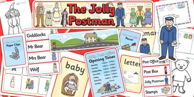 Childminder Resource Pack to Support Teaching on The Jolly Postman - childminder, pack
