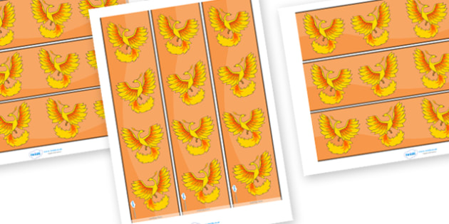 Phoenix Display Borders - Phoenix, display border border, classroom border