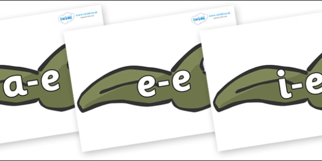 Modifying E Letters on Tadpoles - Modifying E, letters, modify, Phase 5, Phase five, alternative spellings for phonemes, DfES letters and Sounds
