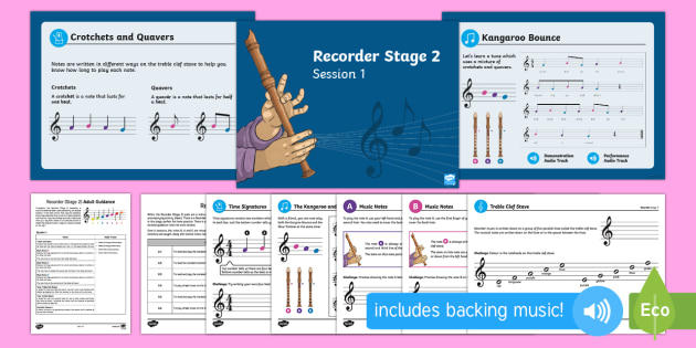 Recorder Stage 2 Resource Pack