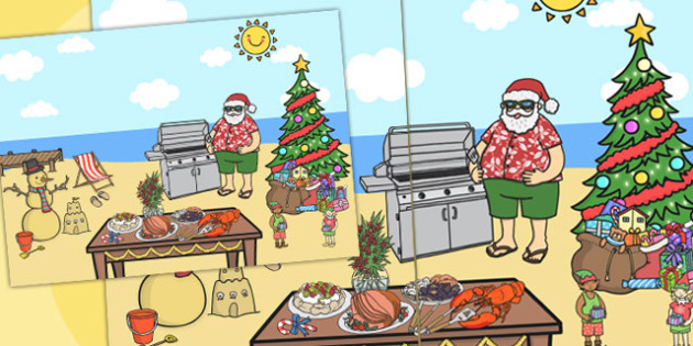 Giant Christmas Scene Display - australia, christmas, display