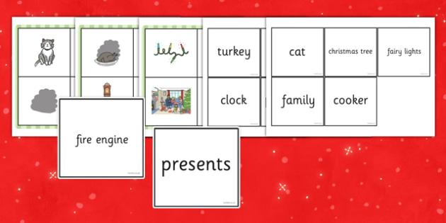 Christmas Cat Themed Bingo Game - christmas cat, mog, sainsburys, advert, bingo, game, activity