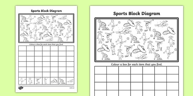 Sports Bar Graph Activity Sheet - graphs, record, activities, worksheet