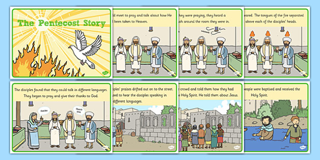 Pentecost Story - KS1 Easter & Pentecost Story Resources