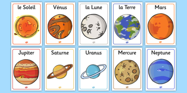planets in french - photo #26