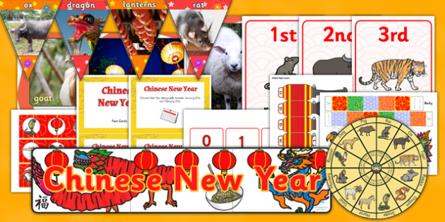 Teaching Assistant Chinese New Year Display Pack - activity, pack