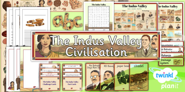 PlanIt History UKS2 The Indus Valley Unit Additional Resources