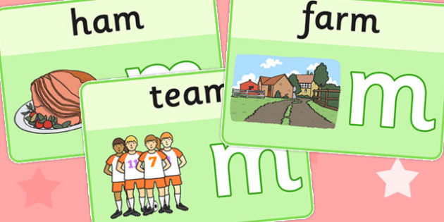 Final M Sound Playdough Mats - final m, sound, playdough, mats