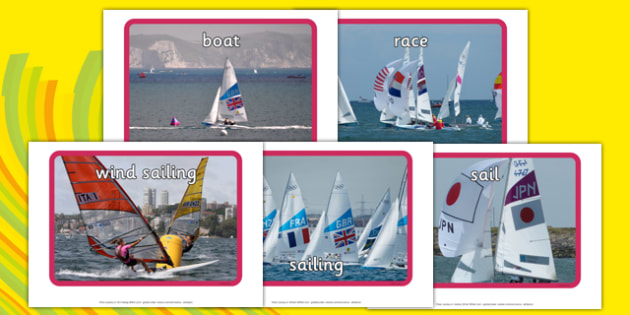 The Olympics Sailing Display Photos - the olympics, rio olympics, 2016 olympics, rio 2016, sailing, display photos