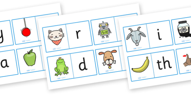 Initial Sound Loop Cards - Initial Sound Loop Cards, initial sound, initial, sound, loop cards, cards, flashcards, loop, image, letters and sounds, phase 1, phase one, DfES Letters and Sounds, initial sounds cards, phonics