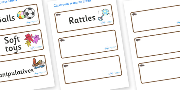 Mole Themed Editable Additional Resource Labels - Themed Label template, Resource Label, Name Labels, Editable Labels, Drawer Labels, KS1 Labels, Foundation Labels, Foundation Stage Labels, Teaching Labels, Resource Labels, Tray Labels, Printable lab