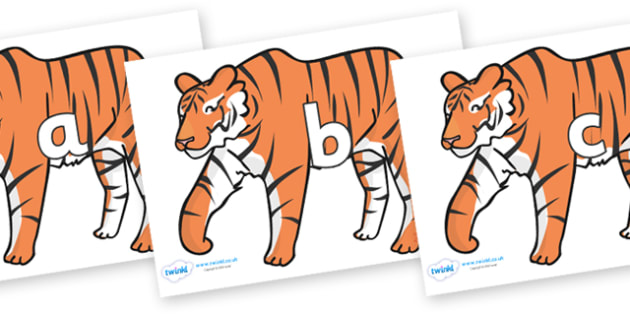 Phase 2 Phonemes on Tigers - Phonemes, phoneme, Phase 2, Phase two, Foundation, Literacy, Letters and Sounds, DfES, display