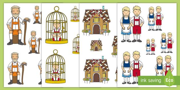 Hansel and Gretel Size Ordering - size, ordering, hansel, gretel