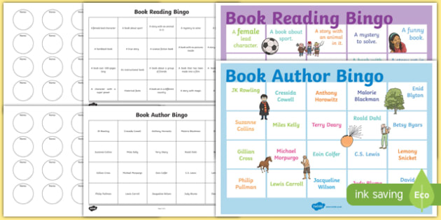 Book Reading Bingo