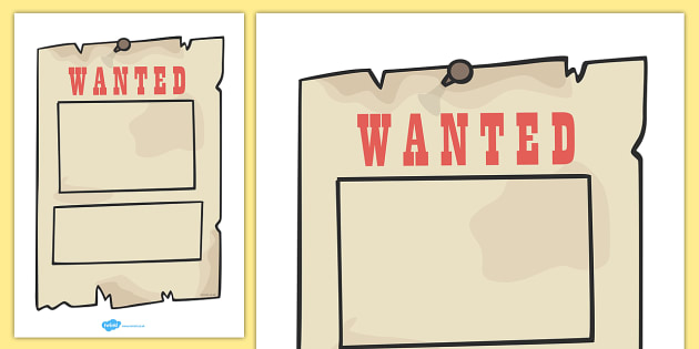 Wanted Poster Templates - Cowboy, wanted poster, template, Indian, America, American West, Native American, sheriff, badge, guns, arrows, saloon, cactus