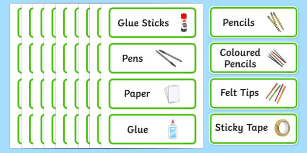 Green Themed Editable Creative Area Resource Labels - Themed creative resource labels, Label template, Resource Label, Name Labels, Editable Labels, Drawer Labels, KS1 Labels, Foundation Labels, Foundation Stage Labels