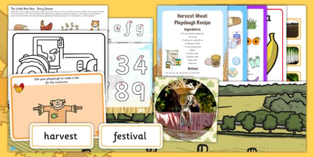 Childminder Harvest Pack - pack, harvest, childminder, activity