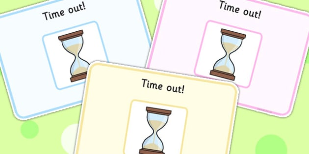Time Out Support Cards - SEN, SEN cards, learning support, cards