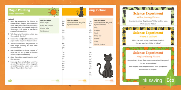 EYFS Science Experiments Resource Pack