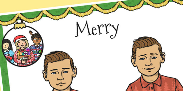 A4 British Sign Language Sign for Merry Left Handed - sign, merry