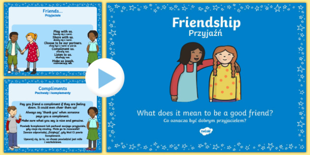 Friendship and What it Means PowerPoint Polish Translation-Polish-translation