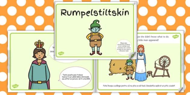 Rumpelstiltskin eBook EAL Romanian Translation - storybooks