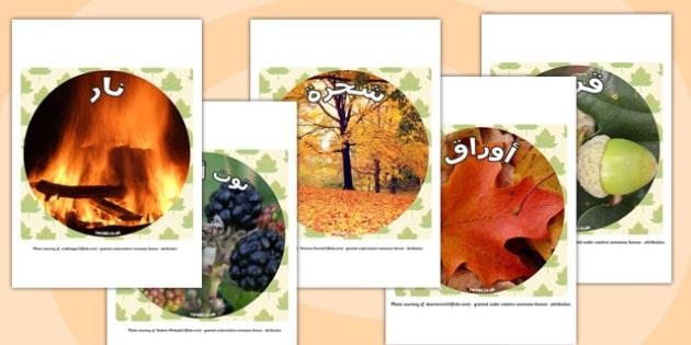 قصاصات صور عرض عن الخريف