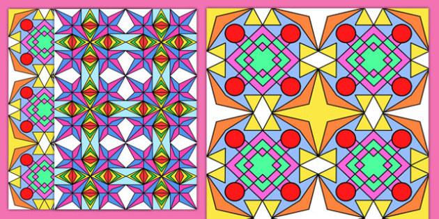 Diwali Rangoli Pattern Sheets - diwali rangoli, pattern, sheets, pattern sheets, diwali rangoli sheets, diwali rangoli patterns, colourful patterns, divali, divalli