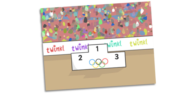 The Olympics Self Registration Backgrounds (Podium Award Ceremony) -  Olympics, Olympic Games, sports, Olympic, London, Self registration, register, editable, labels, registration, child name label, printable labels, 2012, activity, Olympic torch, me