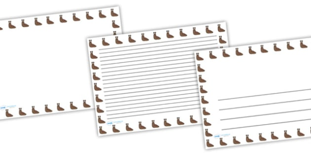 Slug Full Page Borders (Landscape) - page borders, slug page borders, slug borders for page, minibeast page borders, slug, A4, border for page, lined pages