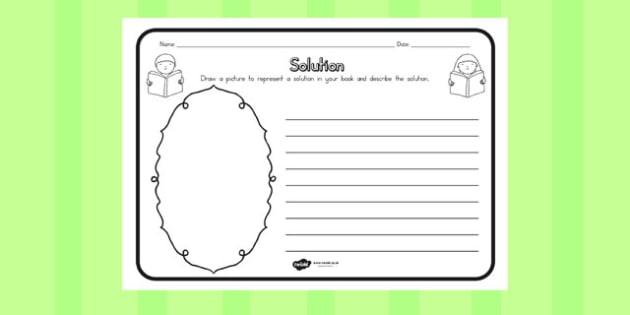 Solution Comprehension Worksheet - australia, solution, sheet