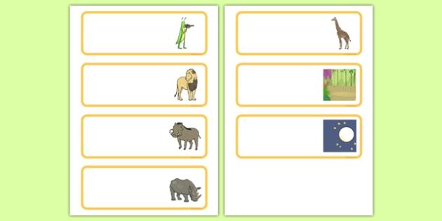 Dancing Giraffe Themed Editable Drawer Peg Name Labels - Giraffes, dance, label, pegs, name, animals, Africa, safari, classroom, organise, Giraffes Can