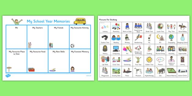 My School Memories SEN Version - school, memories, sen, memory