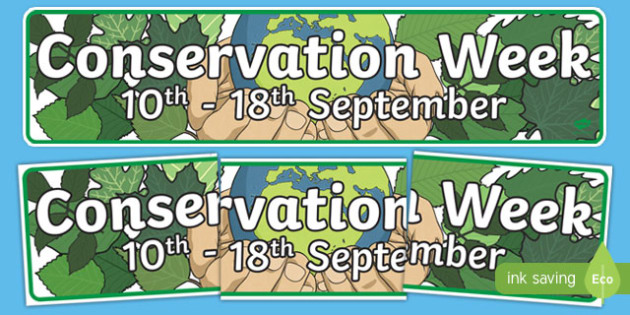 New Zealand Conservation Week Display Banner