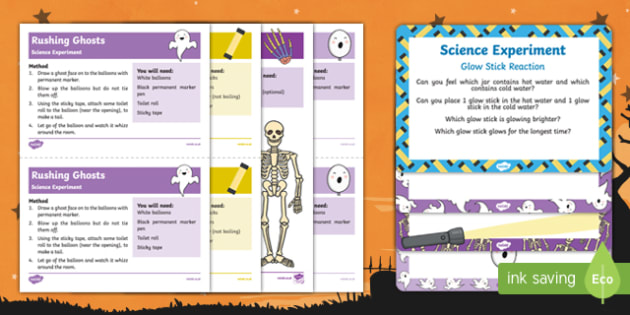 EYFS Halloween Science Experiments Resource Pack